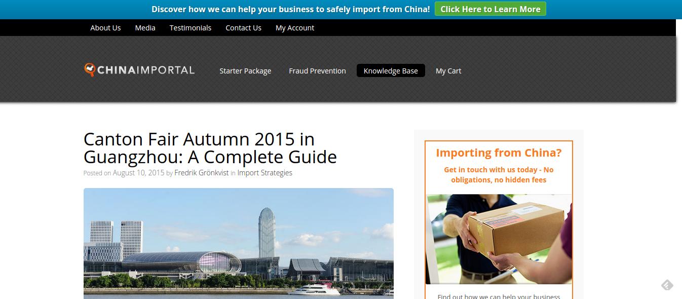 China Importing Resources - ChinaImportal