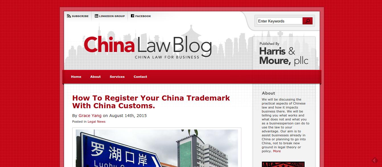 China Importing Resources - ChinaLawBlog