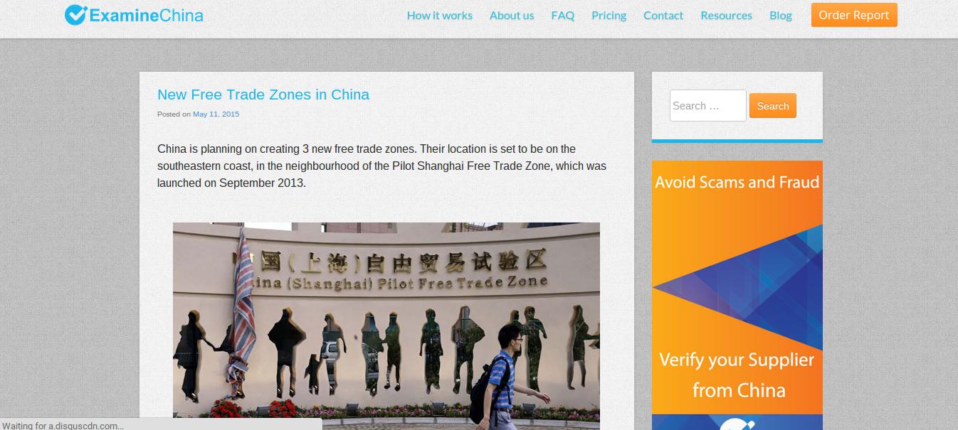 China Importing Resources - ExamineChina