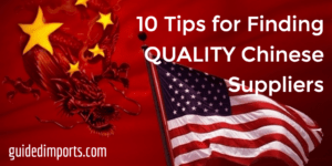 finding quality suppliers in china